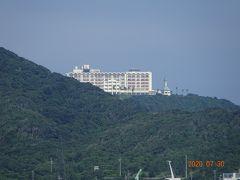 伊良湖ビューホテルが見えます
