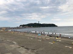 今度は、片瀬海岸西浜へ。