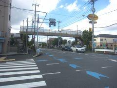 小金井街道を徒歩で南下