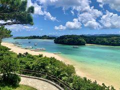 朝食を満喫してから向かったのは、石垣島のNo.1観光スポットである川平湾。 旅行雑誌で良く見る風景だ~!とテンションが上がりました笑