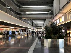 羽田空港第1ターミナルは閑散と・・  北ウイング