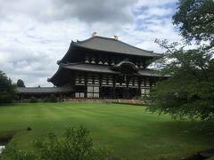 お次は東大寺。 何度来てもその大きさに感動させられます。  大仏さんに疫病退散をお願いしてきました。 本当に本当にお願いします!!