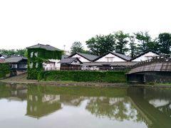 山居倉庫が見えてきました。