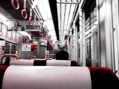 最終日は広島駅から安芸路ライナーに乗ります。