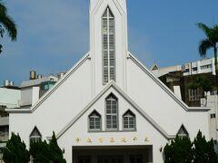 向かい側にあるのは、太平境馬雅各紀念教会