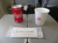 ドリンクサービスはコーラが復活!缶で提供されます。 鹿児島空港到着後はリムジンバスと鹿児島シティービューを乗り継ぎ、仙厳園へ。