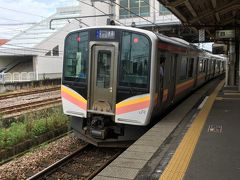 ★10:45  越後湯沢で停車時間があり、六日町には定時到着。