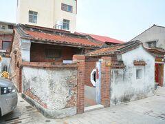 ここは安平海頭社魏宅という古跡らしい。