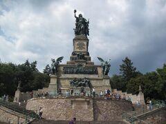ニーダーヴァルト記念碑に到着しました。 ここまで普通の速さで歩けば小一時間もあれば行けます。