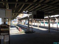 阪堺電気軌道【恵美須町停留場】 1911年(明治44年)開業  レール・枕木・架線等は撤去済み。2/1より100m程南へ移転し地下鉄との乗換は不便になりましたが、通天閣は近くなりました。
