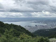 延暦寺から少し離れると、霧は晴れ、比叡山から琵琶湖を眺めることができました。  仔猫といっしょ計画 http://blog.livedoor.jp/shohei72/
