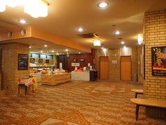 6:50 ホテルサンルート奈良 (現尾花ホテル)チェックアウト ロビーにはドリンクコーナーがあって、6時から利用できます。 コーヒーやお茶が無料で飲める
