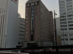 ゴルフ終了後に移動して仙台へ。 今日の宿はJALシティ仙台。