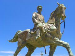 城下町を一通り回った後は山県有朋の銅像に別れを告げ、萩を後にしました。