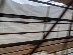 そして列車は球磨川第一橋梁を渡りましたが、この時は工事中でよく分かりませんでした 。