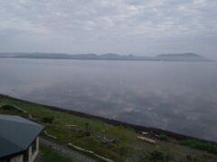 3日目の朝。部屋の窓から外を見ると、今日も曇りがち