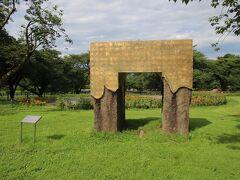 凱旋門もどき  ここからは伊香保グリーン牧場です。