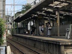 さて、由比ケ浜駅方面から