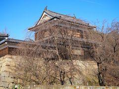 そしてこちらが北櫓。両方の櫓とも戦後に復元されたもので、中に入れるとの事だが12~2月の冬季は閉館されとります。