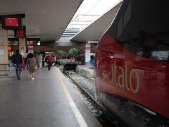 久々のフィレンツェ・サンタ・マリア・ノヴェッラ駅(Firenze Santa Maria Novella)