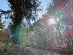 モンタネッリ公園の中にあるので 散策もとても気持ちいいです