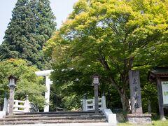 猪苗代町にある土津神社。 紅葉の時期はとても素敵です。