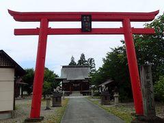最初に伺ったのはこちら「居合神社」さん(*^。^*) 道路際に案内、手前にも目立つ赤鳥居があるんで迷わず来られるよん(^_^)