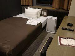 到着したらホテルリリーフで一泊です。ANAのボーナスマイル2000も頂きます!