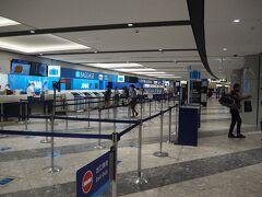 搭乗手続きカウンターが、ガラガラ空いている新千歳空港から旅行を始めました。 こんなに人がいない新千歳空港は初めて見ました。 新型コロナウイルス、恐ろし!