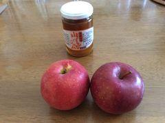 いただいた、林檎ちゃん!春恋だったかな? 真夏のりんごに感激ですね(*^^*)  信州乗鞍高原温泉ふるさとむら エコー乗鞍 山すももジャム(#^.^#) ここだけの限定品ですって!とっても美味しいわよ!