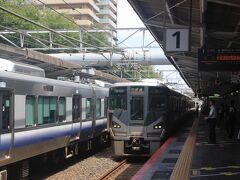 南海高野線で三国ヶ丘駅へ。 この駅でJR阪和線に乗り換えます。