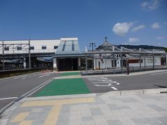 JR安土駅へ。