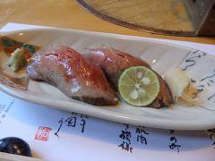 牛トロにぎり寿司、美味しい♪