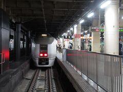 北へ向かう旅はやはりここ、上野駅から。今回は普通列車の硬い椅子を嫌ったので9時ちょうど発の草津31号に乗車した。行き止まり式のホームに始発列車が赤いテールランプを光らせながら発車を待つ佇まいはいつ見ても旅情がある。