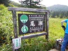 「尾瀬国立公園」 2007年に日光国立公園から尾瀬地域を分離さらに周辺地域を編入する形で 指定された29番目の国立公園。 この辺りから尾瀬沼1周コースの分岐がありますが・・