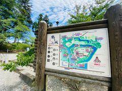 会津若松に来るのは全くの初めてなので、定番の観光スポットへ。 鶴ヶ城に行ってみます。 西出丸有料駐車場は300円。