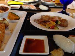 沖縄料理のほか、ローストビーフやお寿司など盛りだくさんでした♪