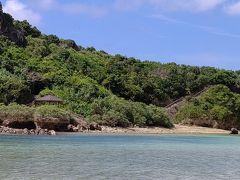 私は浅瀬でのんびりと過ごします  こちらのビーチは岩場なので気をつけて下さい。私、膝を切りました…(><)