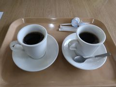 疲れもあり湧駒荘まで歩いて行く元気もないので、姿見食堂でコーヒーを頂きひと休み。