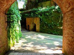 トンネルを抜ける手出たところがネットで話題の天空の城ラプュタのようだと言われている場所。