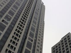 <ウェスティン上海>  1/3(木)7:00  外は凄く寒い! でもホテルを出て外灘をモーニングラン!(ひとりで)