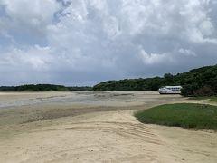 ホントだ!川平湾小島まで歩いて行けるみたい♪♪