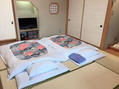 たまにはお布団で寝たいよね。  日本人だもの。