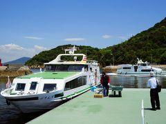 11時56分に白石島に到着、下船しました。船は次の寄港地、北木島に向かって出港しました。