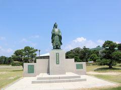藤原俊成像  平安時代の歌人で、3年5ヶ月国司をつとめ、蒲郡の礎を築いたそうです。  へ~知らなかった。歴史あるんですね
