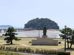 竹島園地です  駐車場は平日は無料です