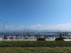 長崎空港到着、お盆過ぎでも猛暑が続いてます