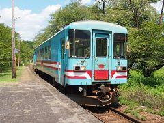 大垣行き列車が到着。