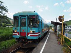 というわけで木知原駅にて列車を降りました。