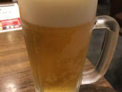 のどが渇いたので、奈良駅1階にある居酒屋に入って少しのどを潤し、帰路に就いた。 因みに、時刻は3時頃。 生中1杯が320円。安い!  ほろ酔いセットなるものもあり、これはドリンク(生ビールorハイボールor日本酒)につまみ3品がついて500円(午後2時からのメニュー)。 奈良は、昼からお安くちょい呑みできる店が結構あって私のお気に入りの街なのである(笑)。